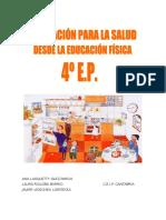 CUADERNO E.F.  4º