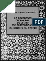 Guerrero - Recepción Del de Anima en Al-farabi y Al-Kindi