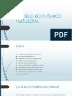 Modelo Económico Neoliberal