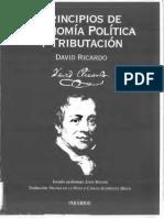 Ricardo David - Principios de Economía Politica y Tributación