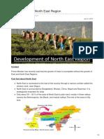 Blog.forumias.com-Development of North East Region