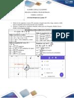 Actividad del (Ejercicio 2 Punto D) en álgebra lineal
