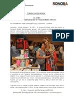 02-09-19 Destaca Gobernadora labor de Fundación Beatriz Beltrones