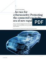 The Race for Cybersecurity Protecting the Connected Car in the Era of New Regulation