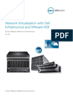Dell Networking Deploying Network Virtualization With Dell Infrastructure and VMware NSX