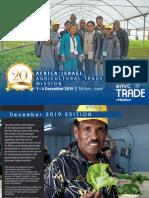 Africa Israel Agricultural Trade Dec 2019