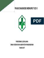 Kode Klasifikasi Diagnosis Menurut Icd x