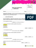 Pauta de Evaluación