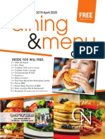 Dining & Menu Guide 10-19