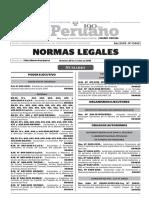 Norma legal urgente