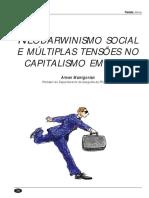 tensões no capitalismo