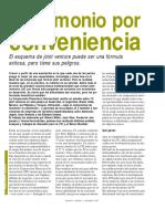 Matrimonio Por Conveniencia-Joint Venture-Proyecto Conjunto
