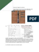 Fulcro, Pendulo, Motor de Fondo y Proyeccion