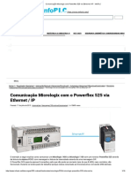 Comunicação Micrologix Com Powerflex 525 via Ethernet _ IP - InfoPLC