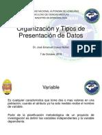 2 Organización y Tipos de Presentación de Datos