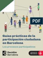 Guías prácticas de la participación ciudadana en Barcelona