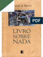 BARROS, Manoel de - Livro Sobre Nada