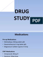 CP Drug Study