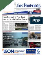 DIARIO LAS AMÉRICAS Edición digital del jueves 17 de octubre de 2019