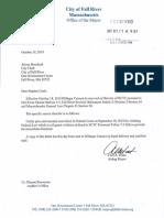 Hildegar Camara removal letter.