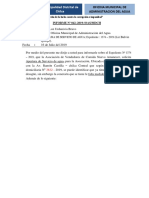 INFORME ASOCIACION DE VENDEDORES