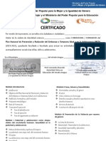 Certificado Preta Prueba 2