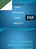 Enfoques Metodológicos en Investigación Educativa (1)