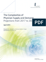 31-2019 Update - The Complexities of Physician Supply and Demand - Projections From 2017-2032
