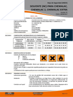 MSDS CHEMALAC