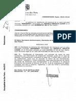 Resolución que deniega habilitación de Remisería GEO