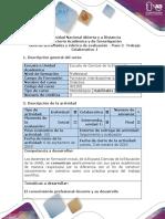 2. Guía de Actividades y Rúbrica de Evaluación. Paso 2-Trabajo Colaborativo 1