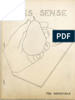 Greenwald Ted Makes Sense Angel Hair Books 1975