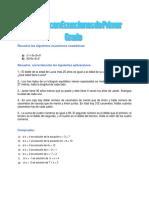 Ecuaciones Tarea 10 Matematica