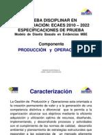 Ecaes 2010 - 2022 Produccion y Operaciones