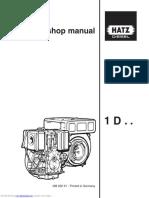 Hatz diesel 1D workshop manual