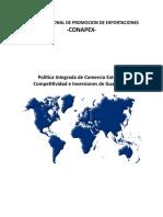 Politica Integrada de Comercio Exterior Uv