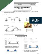3er Año - FISI - Guía Nº 3 - Movimiento Rectilíneo Uniforme