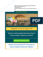 The California-Mexico Studies Center - Historic and Successful 50thAnniversary of Chicano Studies Conference in Mexico