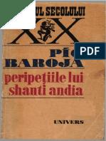 Pio Baroja- Peripețiile lui Shanti Andia 1971