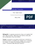 Lecture - Mercado Financiero (Slides).pdf