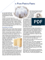Cotton From Field to Fabric 129k PDF