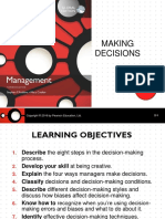 Management Ch3 Making Decisions