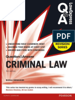 [Law Express Questions & Answers] Nicola Monaghan - Criminal Law (Q&A Revision Guide) (2015, Pearson)