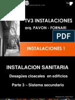 TV3 Instalaciones N 1 - Desague Cloacal Parte 3 - 2019