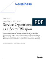 Service Operations as a Secret Weapon