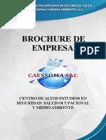 BROCHURE CAESSOMA SAC