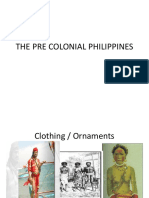 The Pre Colonial Philippines (1)