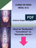 Curso de Reiki Nível III a 15.10.16 0k