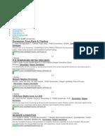 Senarai Syarikat Di Nsdk