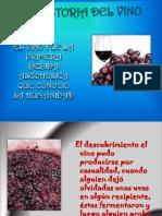 historia de vino